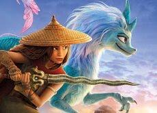 'Raya y el último dragón' es incapaz de superar el debut de 'Tom y Jerry' en taquilla con un discreto estreno internacional